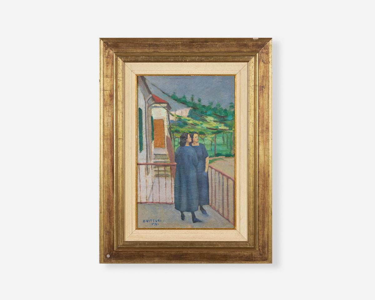 Albano-vitturi_Il-temporale-30×46-1921-olio-su-tela