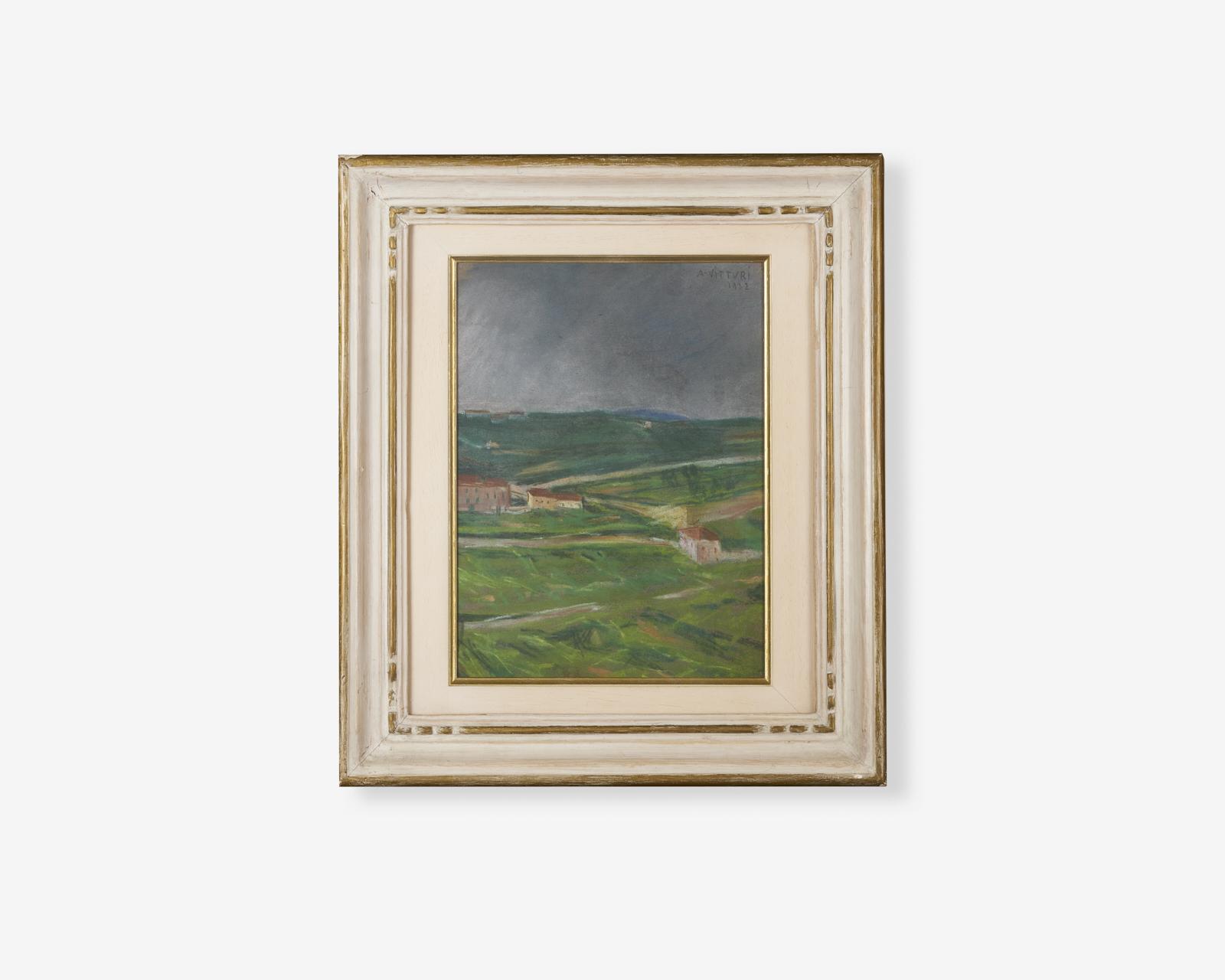 Albano-vitturi_le-torricelle_pastello-su-carta_1922_32x24