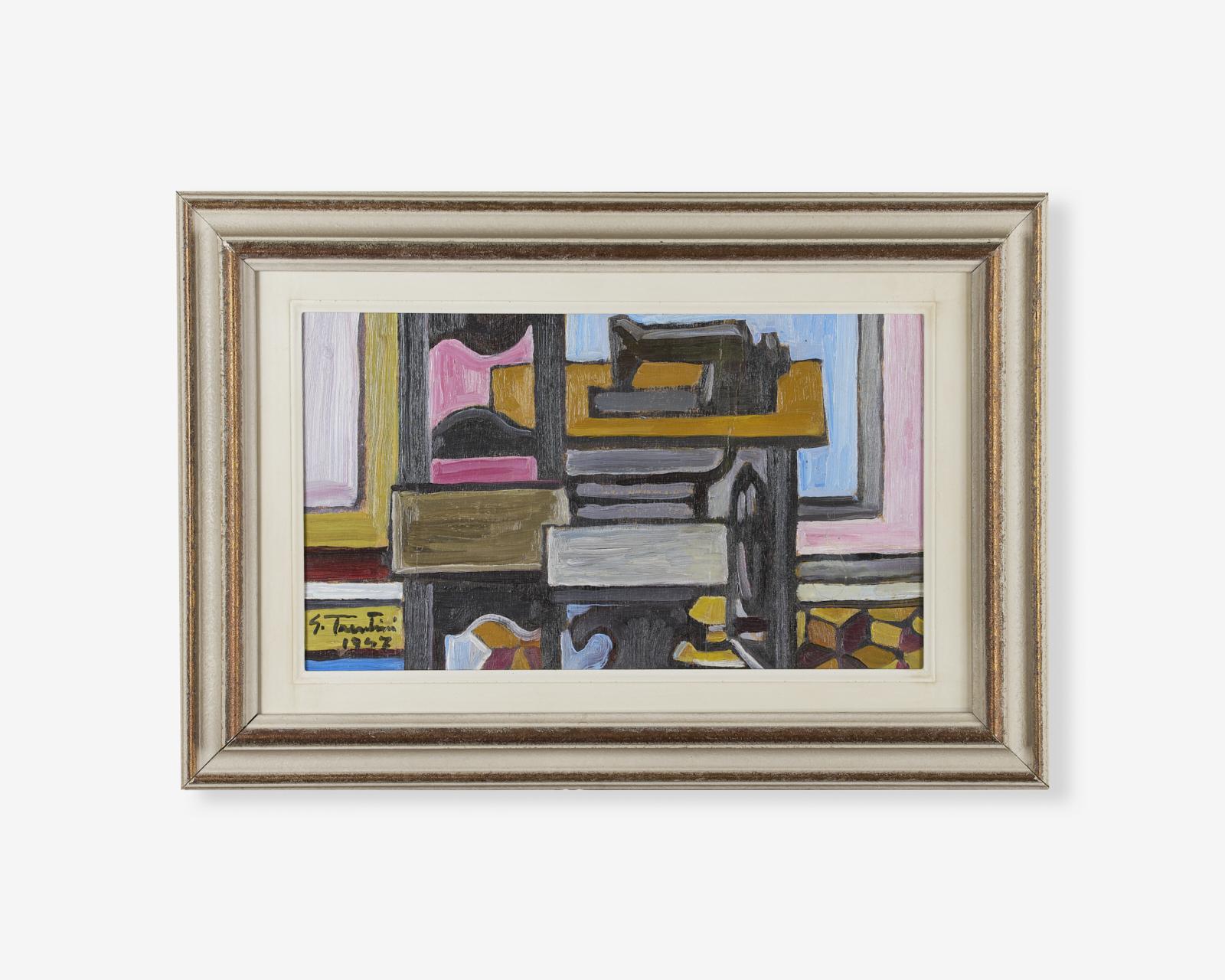 Guido-Trentini_olio-su-tavola_interno_1947_25x40